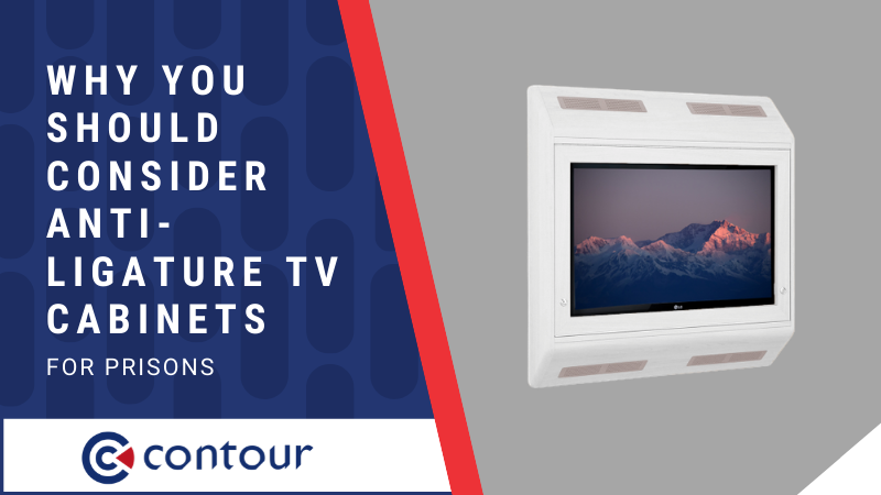 Why You Should Consider Anti-Ligature TV Cabinets for Prisons