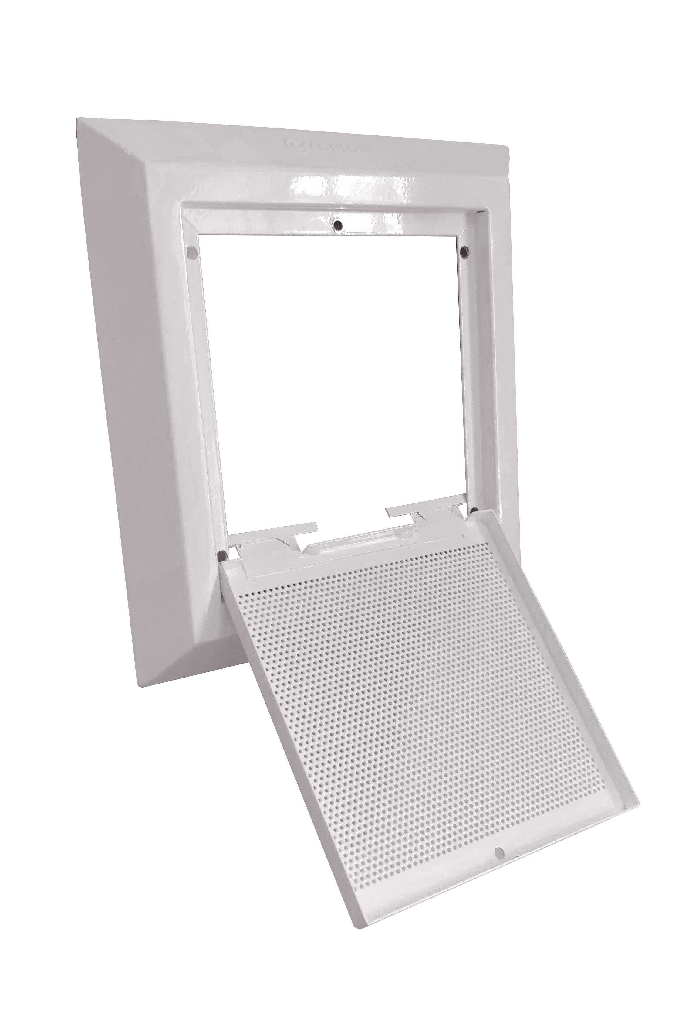 Anti-Ligature Grille Open - Ideal For Mental Health Environments - Contour Heating Experts LST Radiators