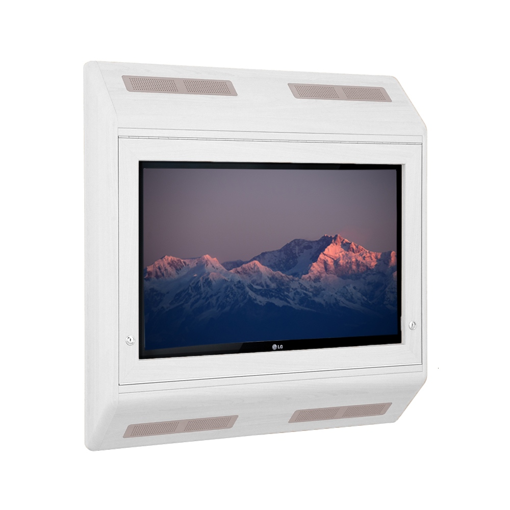 Anti-Ligature Light TV Cabinet- Ideal For Mental Health Environments - Contour Heating Experts LST Radiators-2