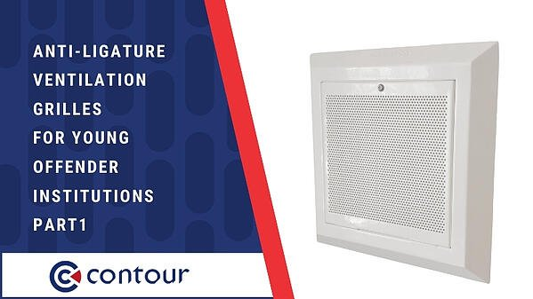Anti-Ligature Ventilation Grilles For Young Offender Institutions PART1