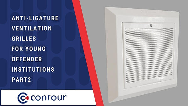 Anti-Ligature Ventilation Grilles For Young Offender Institutions PART2