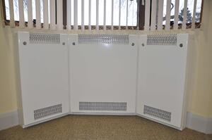 Bay Window radiator guards