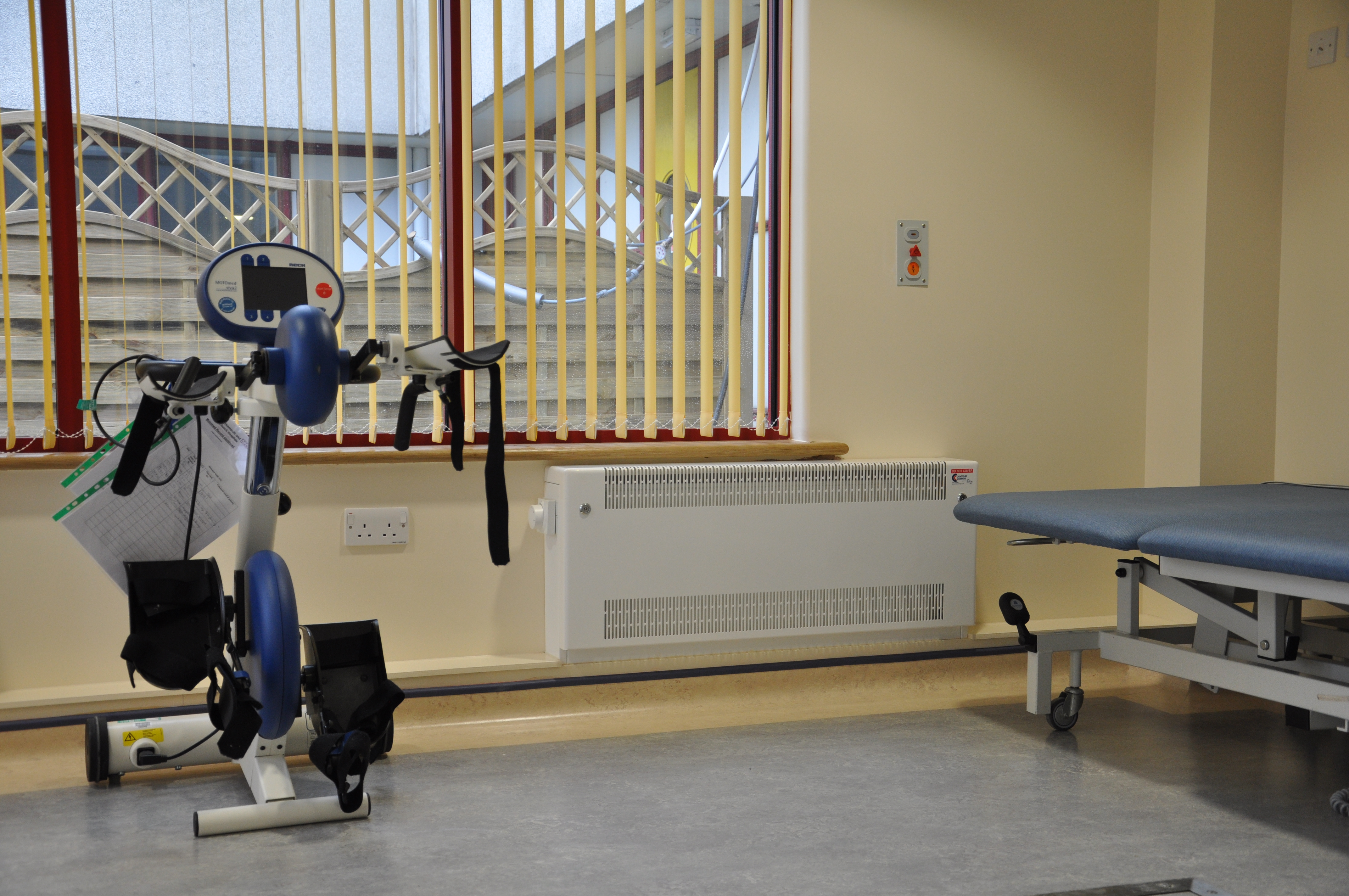 healthcare equipment in care homes