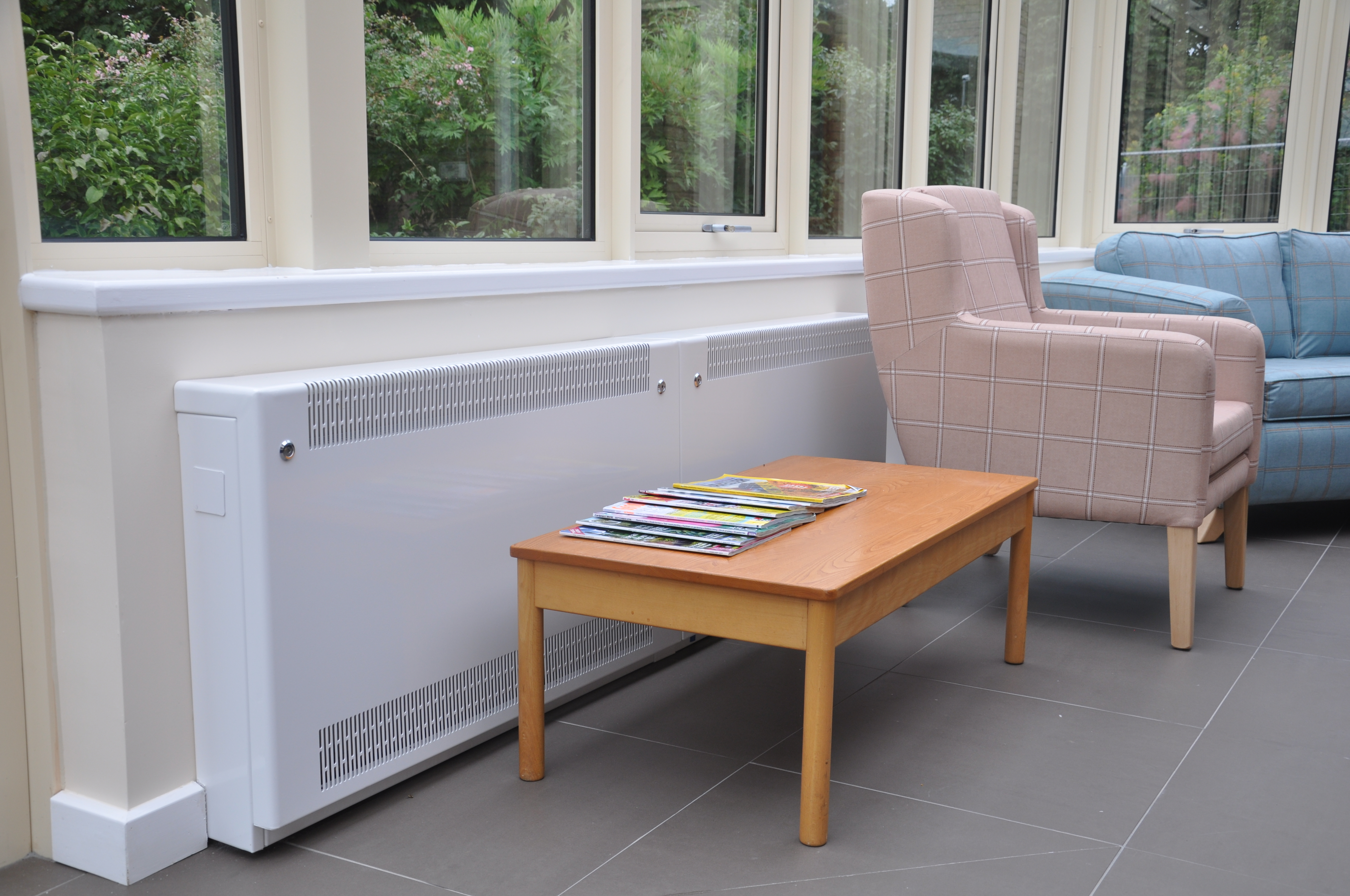 LST radiators in care homes