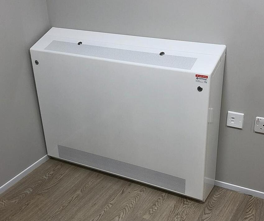 Floor mounted AC  cover