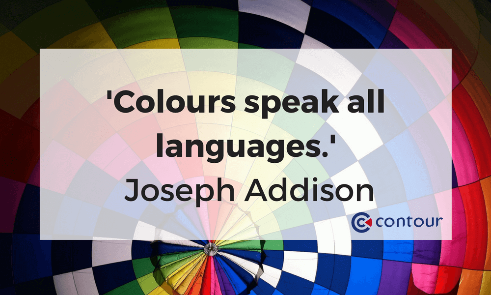 Colours speak all languages