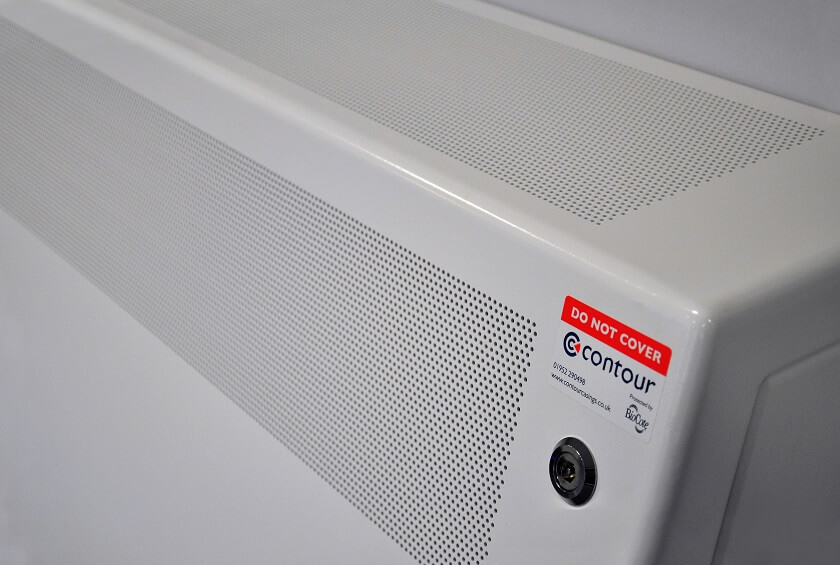 Contour anti-ligature radiator covers are perfect for healthcare, mental health and security sectors.