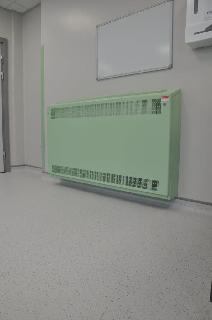 Coloured LST Radiators for hospitals | Contour Heating | Shifnal, West Midlands