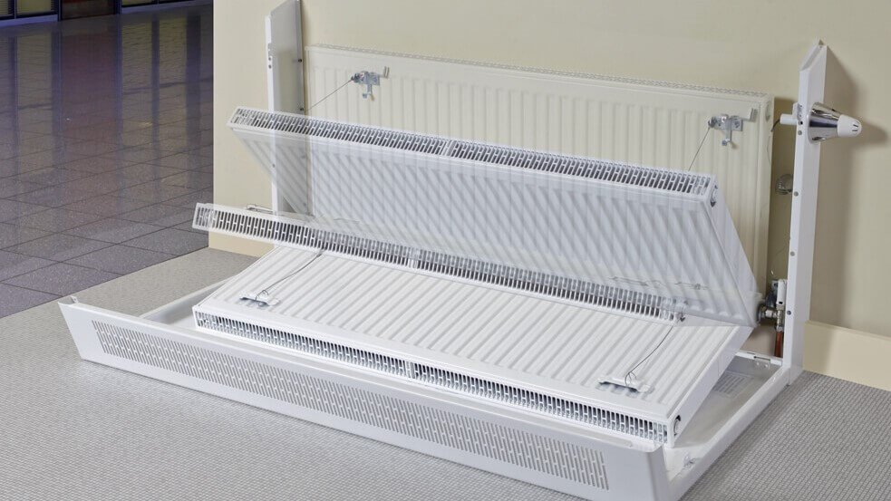 Good Design Makes Metal Radiator Covers Easier To Clean