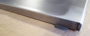 IP3x grille bottom of guard door