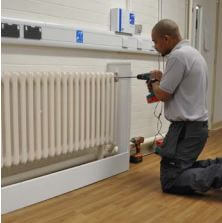 Radiator Cover Installation | Contour Heating
