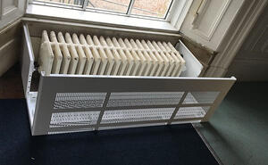 LST radiators for schools - radiator guards and covers - contour heating - Shropshire