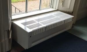 LST radiators for schools - bespoke options - Contour heating - radiator covers