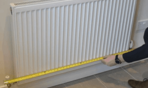Measuring The Length Of Your Radiator _ Contour Heating