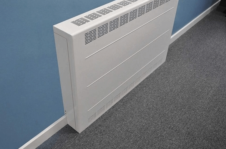 Metal radiator cover for commercial use