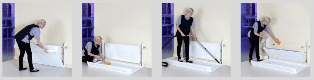 How to clean an LST radiator
