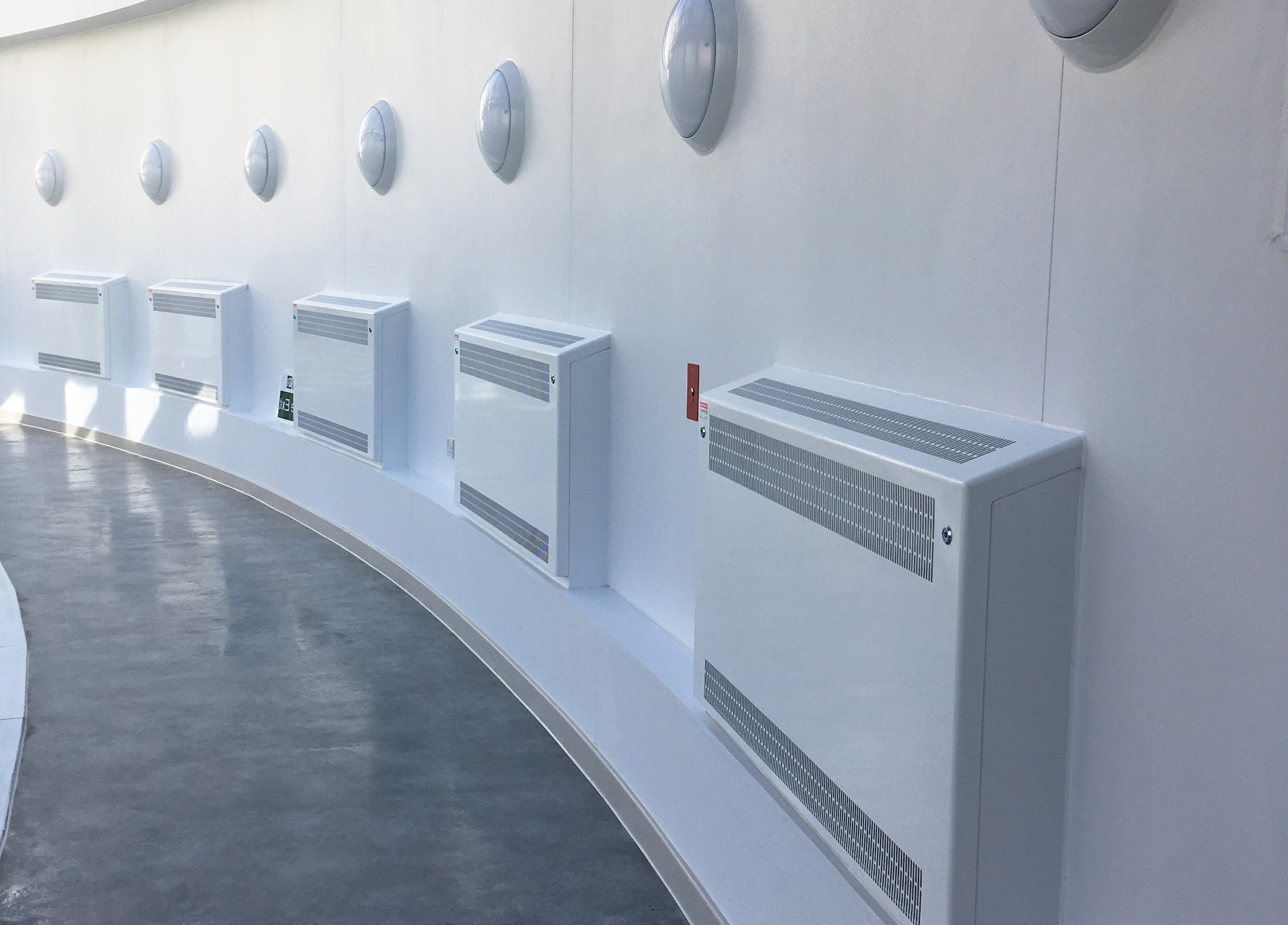 LST Radiator Guards And Radiators for Hospitals Contour Heating Limited