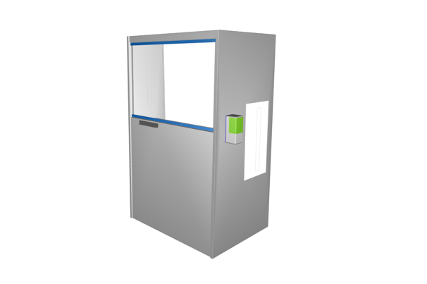 New 3D render Health Check Station | helping to detect signs of coronavirus | covid 19