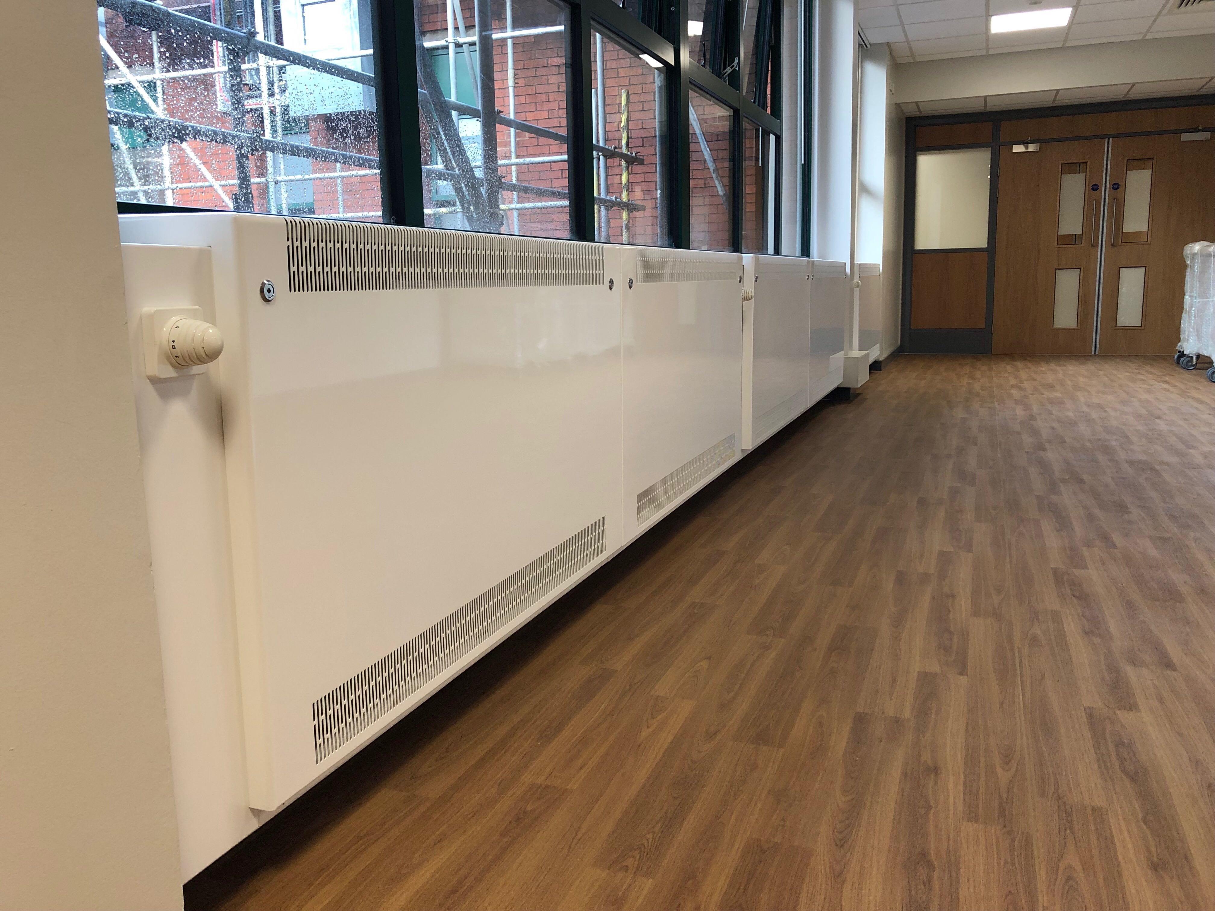 LST radiators wall to wall