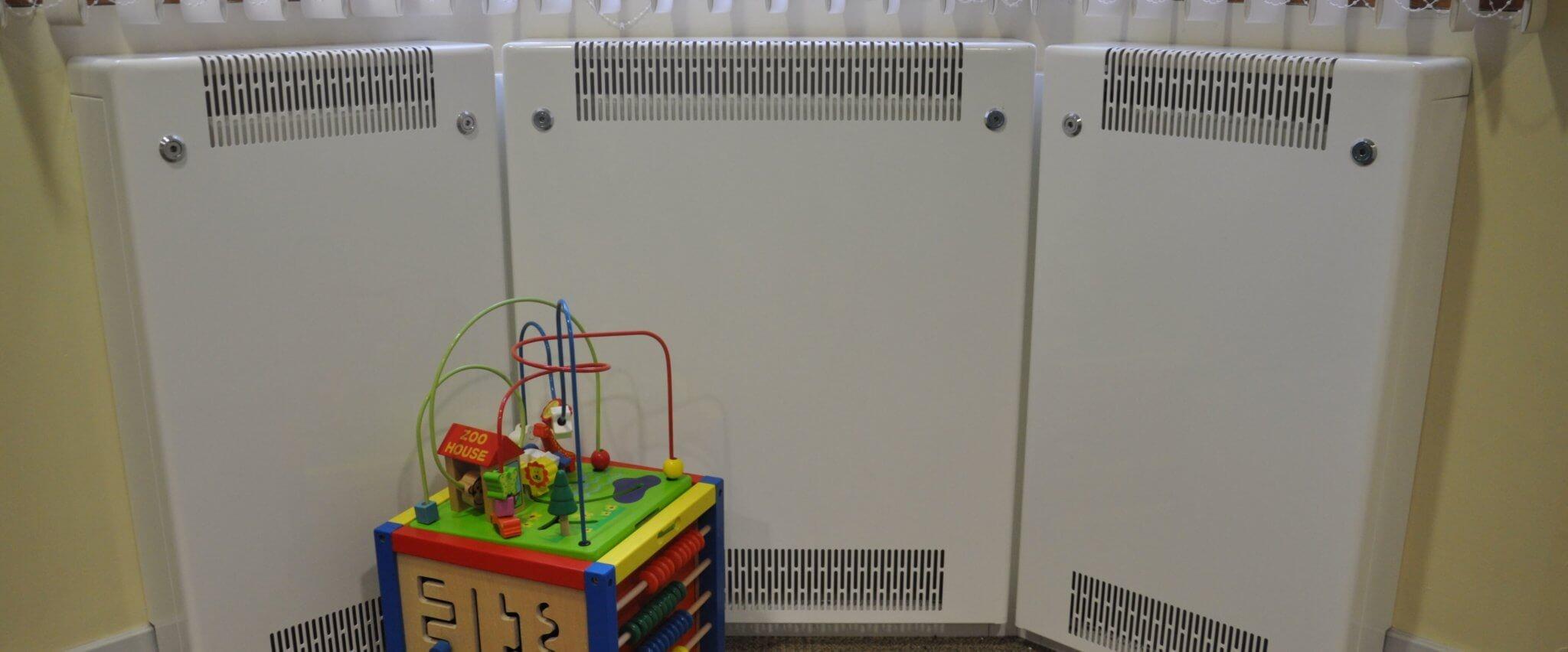 eyfs radiators