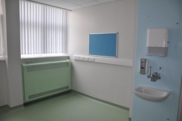leighton hospital green radiators