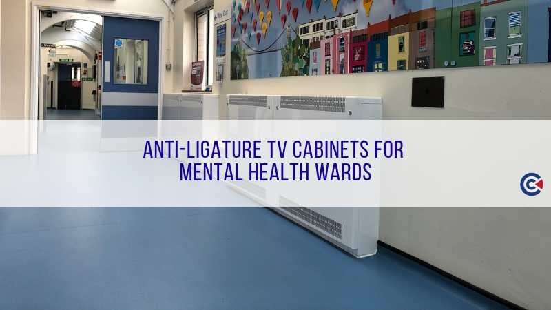 Anti-Ligature TV Cabinets For Mental Health Wards