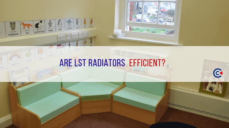 Are LST Radiators Efficient?