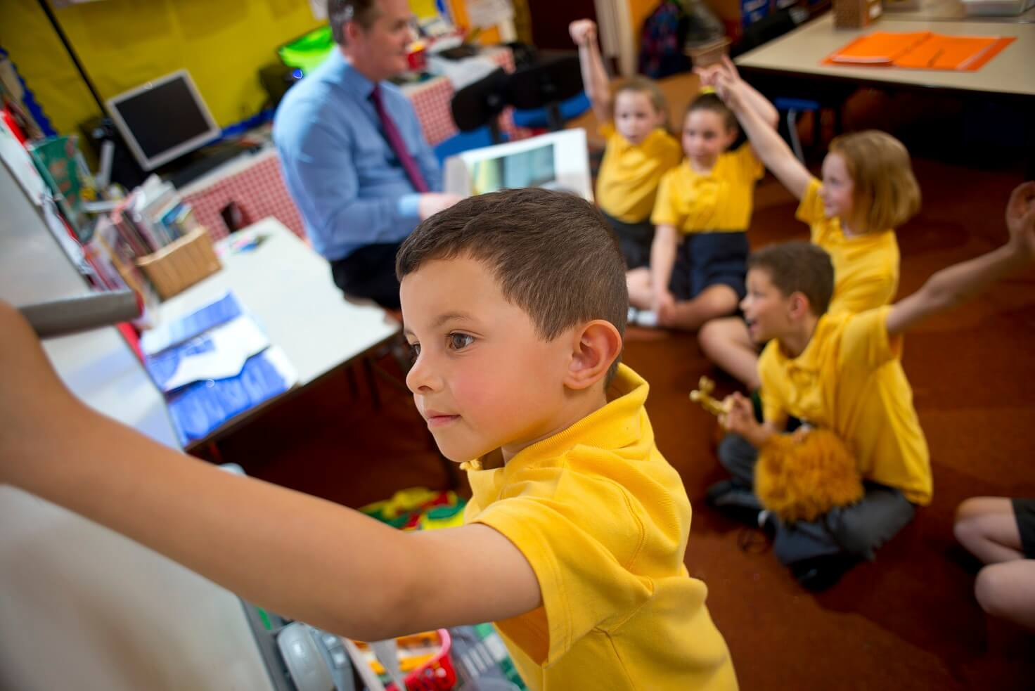 Could using antimicrobial products reduce school absenteeism?