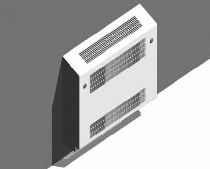 Deepclean Wall Mounted Sloping Top Radiator Guard