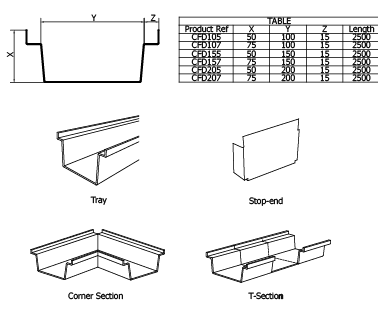 Galvanised Steel Floor Ducting System