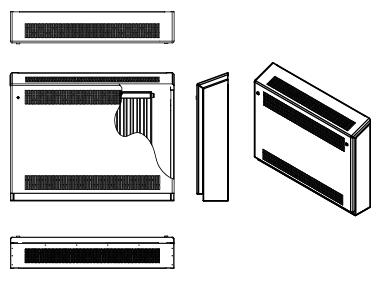 Trionic Anti-Ligature DeepClean Gradient Top (Wall Mounted)