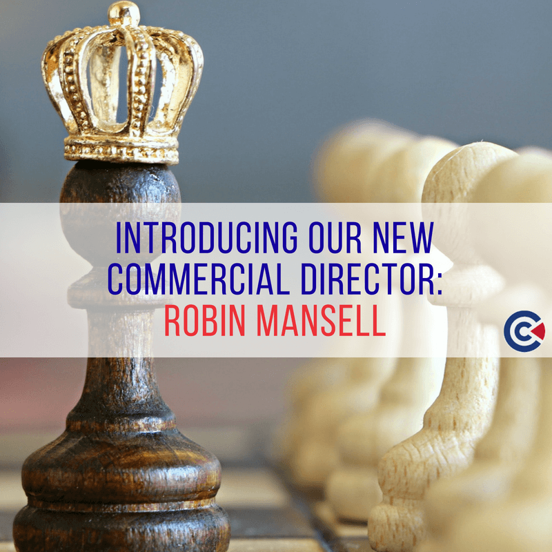 Introducing Our New Commercial Director: Robin Mansell