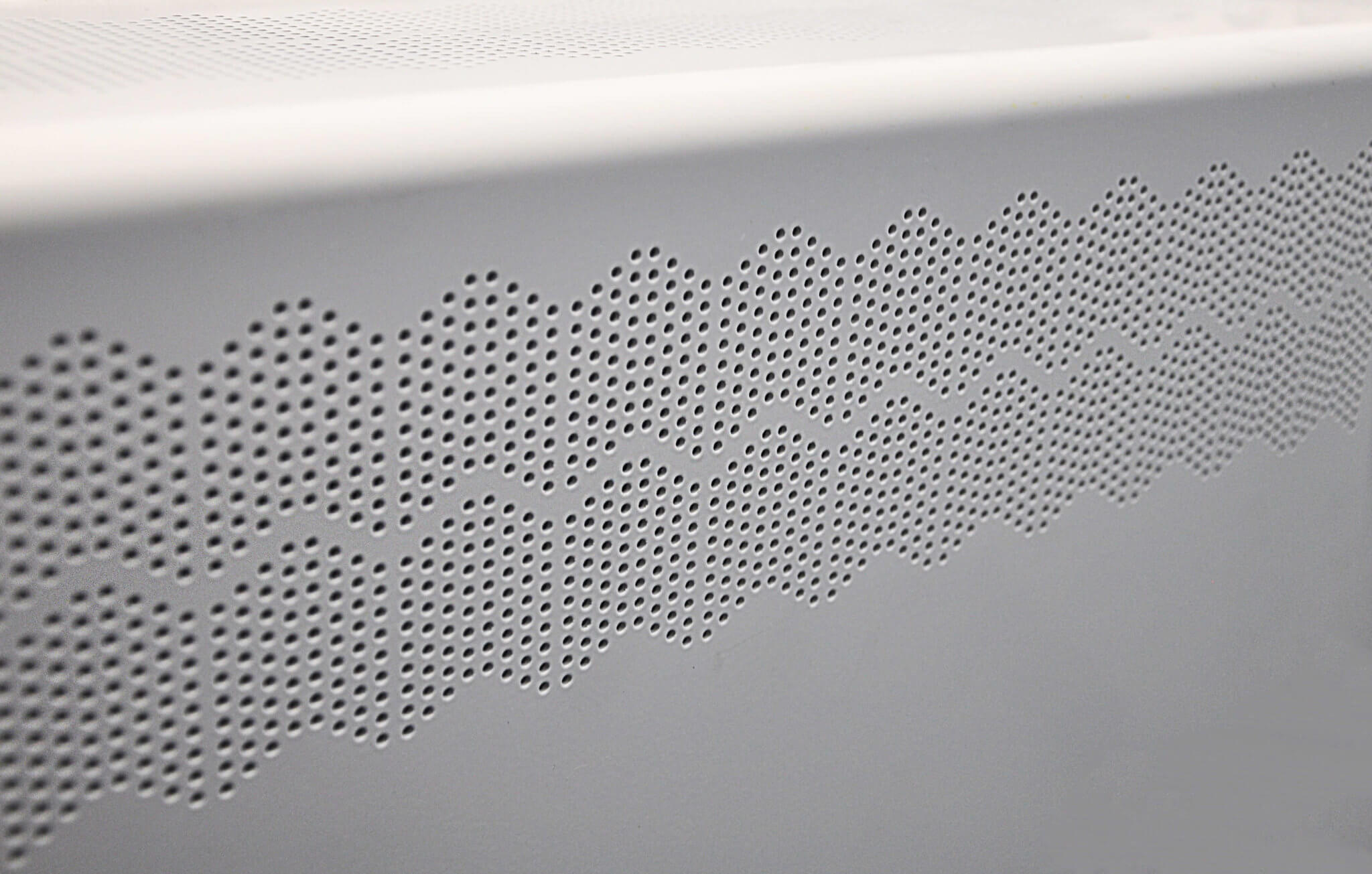 New IP3x compliant and certified anti-ligature radiator guard grille design